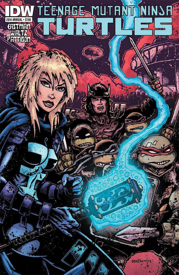 Teenage Mutant Ninja Turtles 2014 Annual