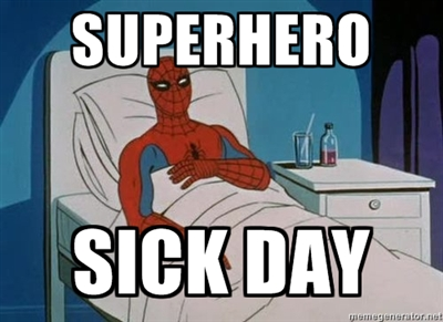 super-hero-sick-day