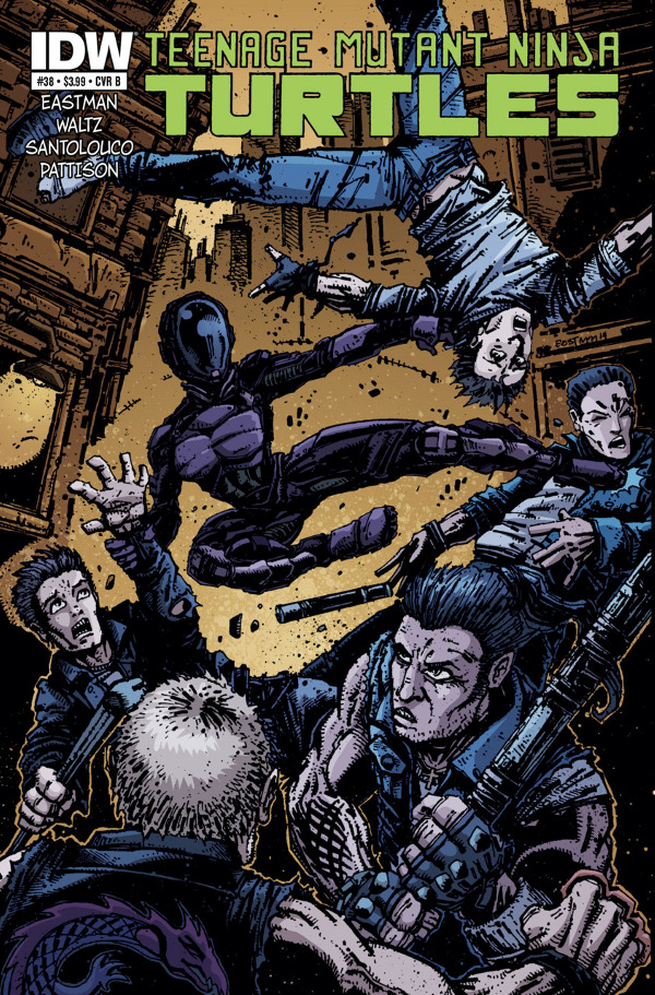 Teenage Mutant Ninja Turtles #38
