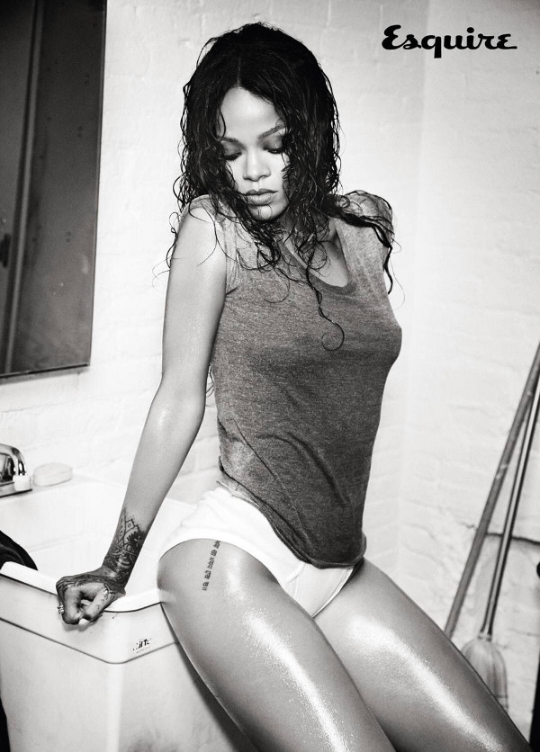 Rihanna - Esquire UK (December 2014)