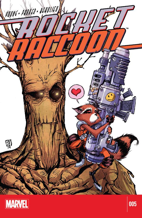 Rocket Raccoon #5
