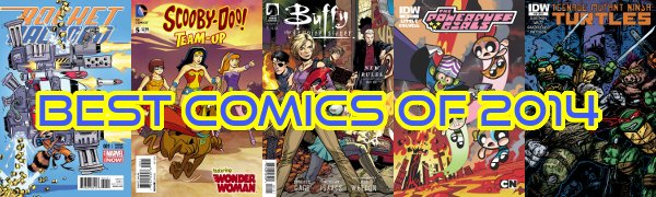 Top 10 Comic Series of 2014