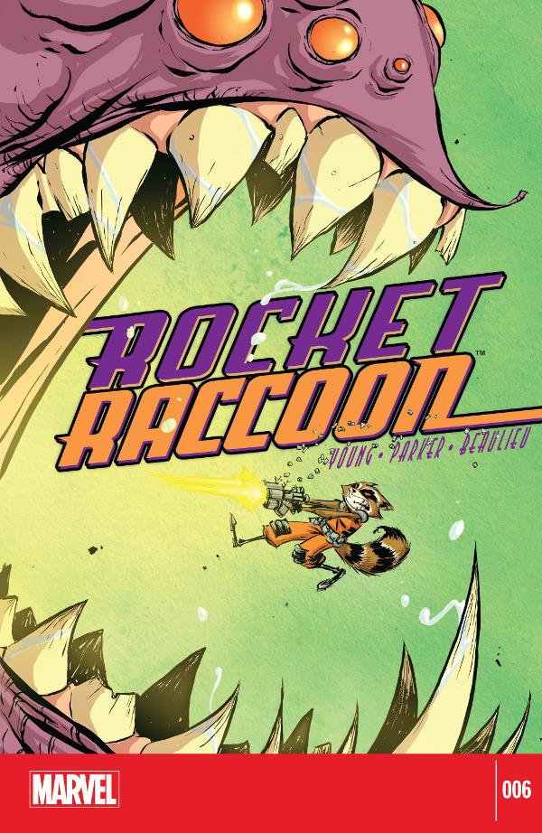 Rocket Raccoon #6