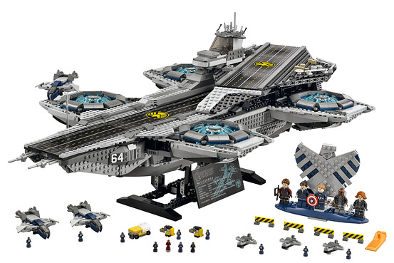 LEGO Helicarrier