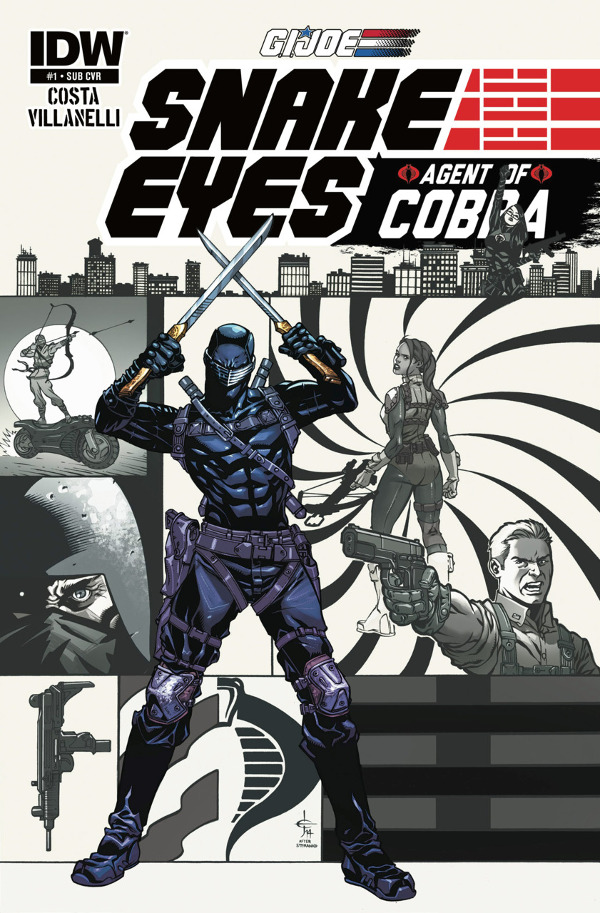 Snake Eyes: Agent of Cobra #1
