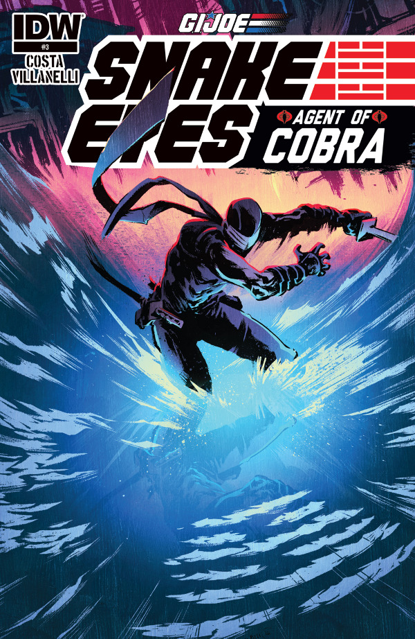 Snake Eyes: Agent of Cobra #3