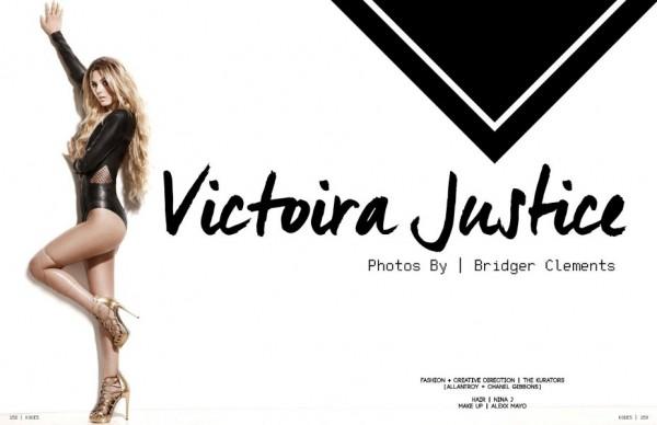 Victoria Justice - Kode (Spring 2015)