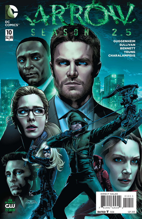 Arrow Season 2.5 #10