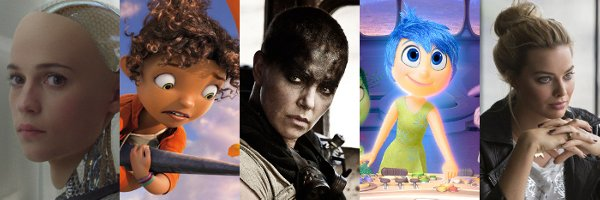 The Top Ten Movies of 2015 (so far)