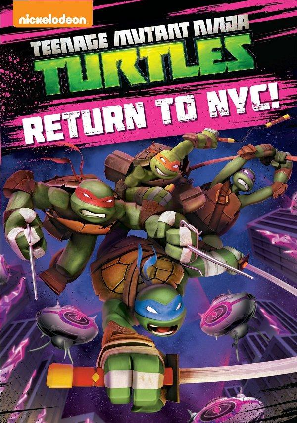 Teenage Mutant Ninja Turtles - Return to NYC!