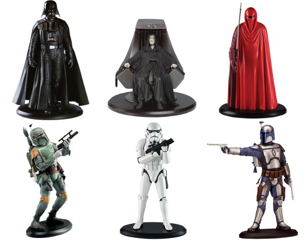 Attakus Star Wars Resin Statues