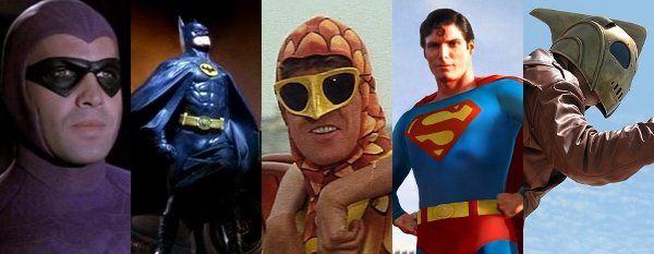 Top Ten Super-Hero Movies (Before They Were Cool)
