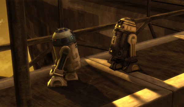 Star Wars: The Clone Wars - Downfall and Duel of Droids