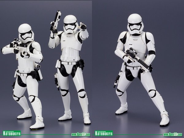 The Force Awakens First Order Stormtroopers