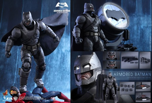 Batman v Superman Armored Batman Sixth Scale Figure