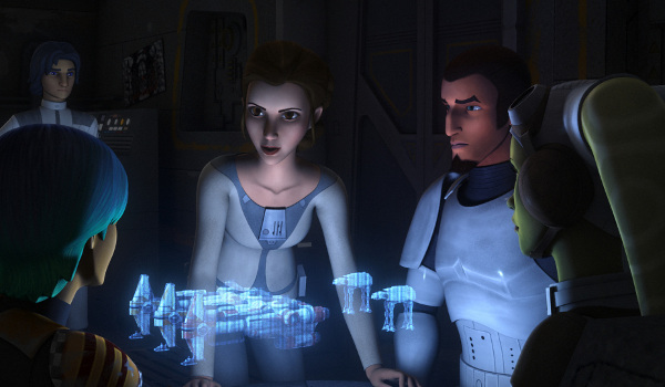 Star Wars Rebels - A Princess on Lothal
