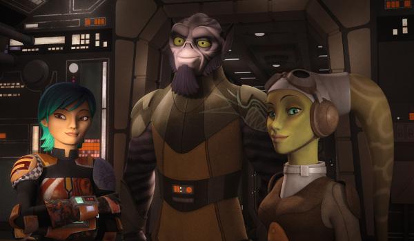 Star Wars Rebels - Legends of the Lasat