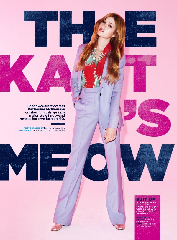 Katherine McNamara - Seventeen (March 2016)