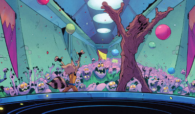 Rocket Raccoon and Groot #6 comic review