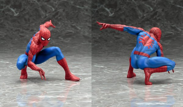 The Amazing Spider-Man ARTFX+ Statue
