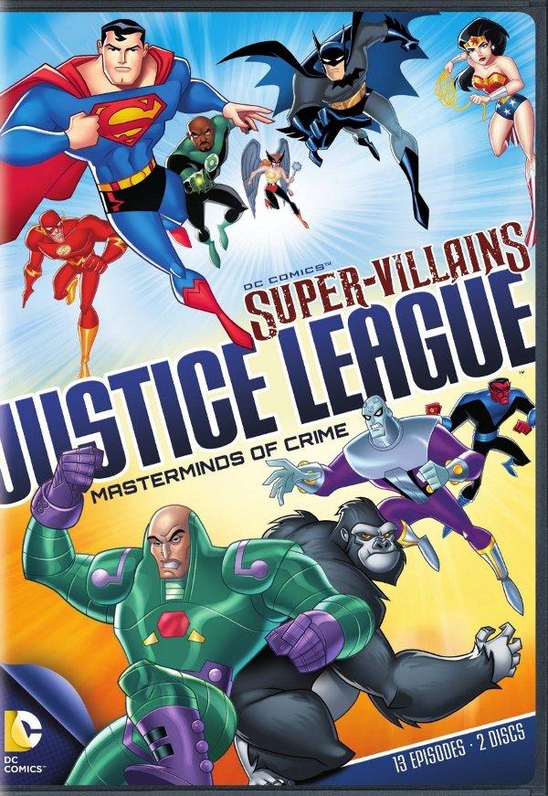 Super-Villains: Justice League Masterminds of Crime