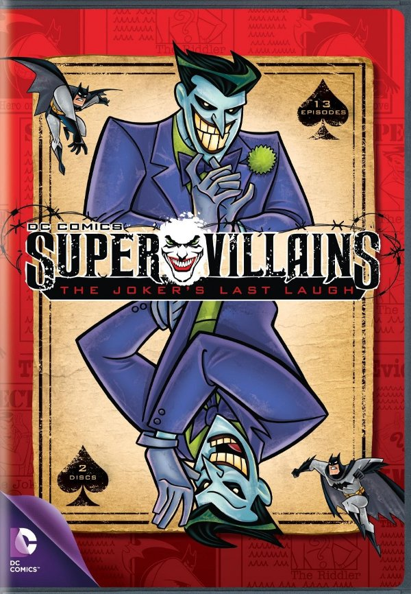 DC Comics Super Villains: The Jokers Last Laugh