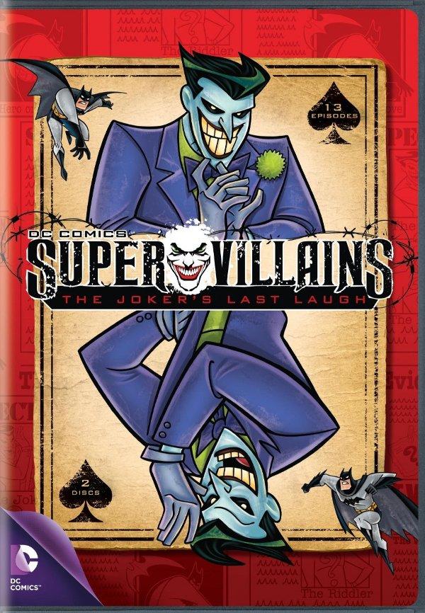 DC Comics Super Villains: The Jokers Last Laugh