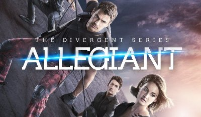 Allegiant DVD review