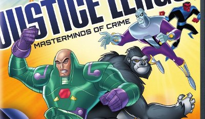 Super-Villains: Justice League Masterminds of Crime DVD review