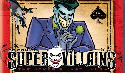 DC Comics Super Villains: The Joker's Last Laugh DVD review