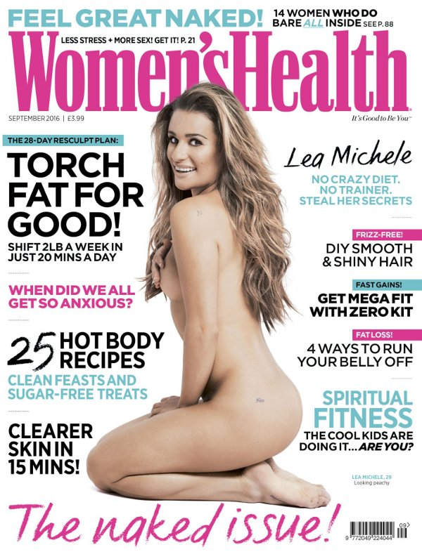 Lea Michele - Women's Health UK (September 2016)