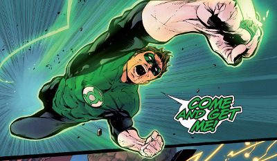 Hal Jordan and The Green Lantern Corps #3 comic review