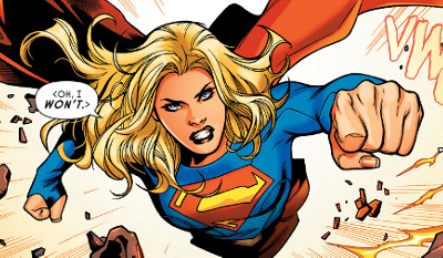 Supergirl: Rebirth #1 comic review