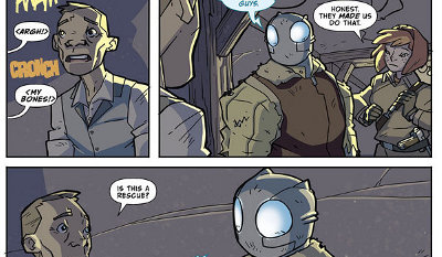 Atomic Robo and the Temple of Od #2 comic review