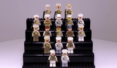 Every LEGO Rebel Hoth Trooper Ever Made!!!