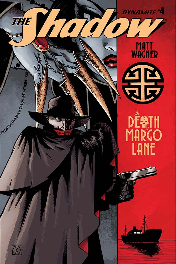 The Shadow: The Death of Margo Lane #4