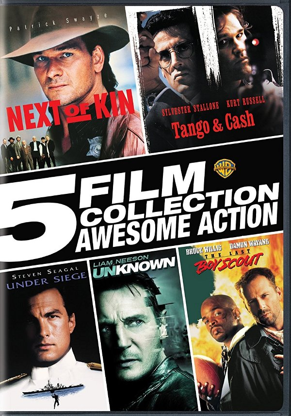5 Film Collection Action Pack