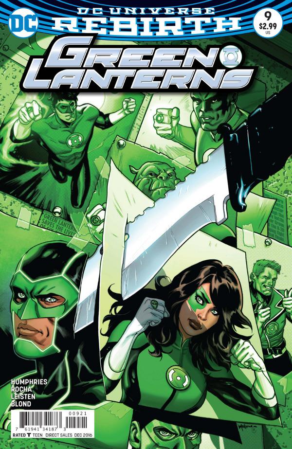 Green Lanterns #9