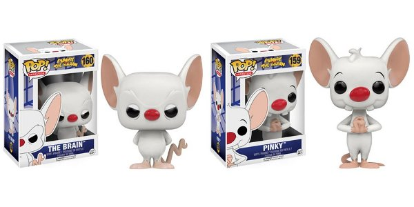 Pinky and The Brain Pop! Vinyl Figures