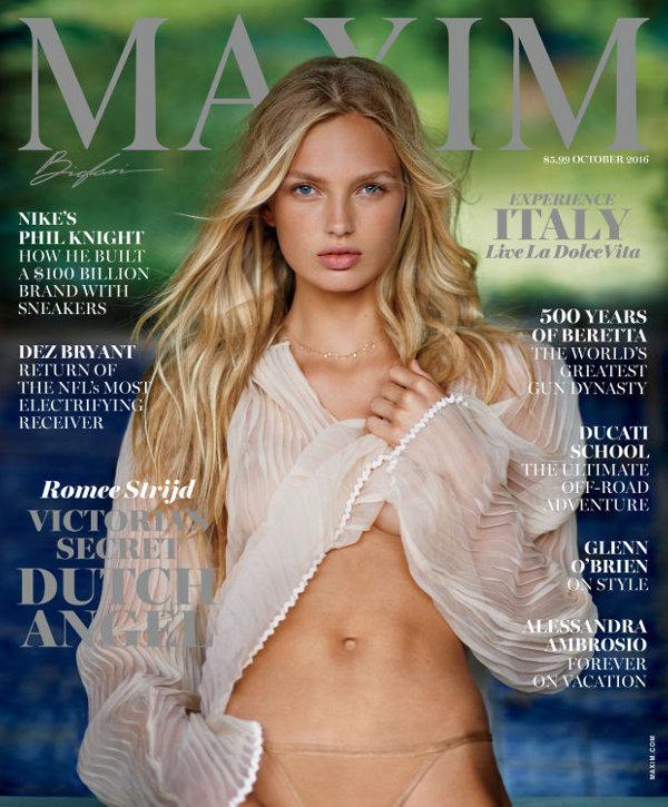 Romee Strijd Maxim October 2016