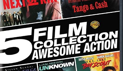 5 Film Collection Action Pack - The Last Boy Scout, Tango & Cash, Under Siege, Unknown, Next of Kin