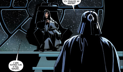 Darth Vader #25 comic review