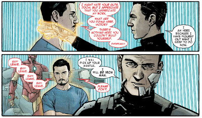 Infamous Iron Man #1 comic review