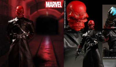 One:12 Collective Twelfth-Scale Red Skull Figure