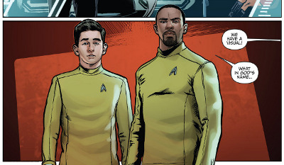Star Trek: Boldly Go #1 comic review