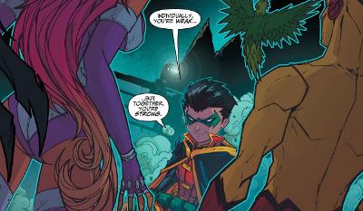 Teen Titans #1 comic review