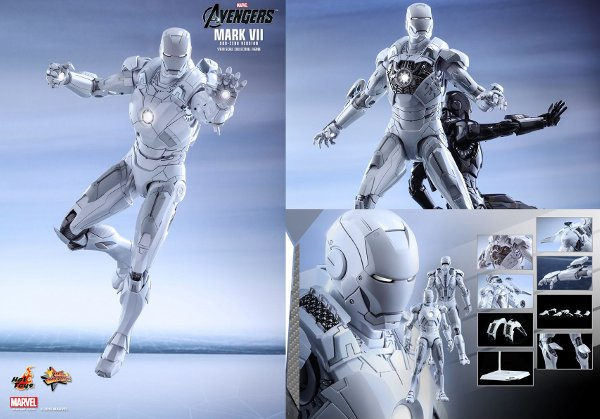 Iron Man Mark VII Sixth-Scale Figure (Sub-Zero Version)