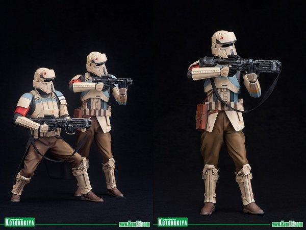 Rogue One Scarif Stormtrooper ARTFX+ Figures