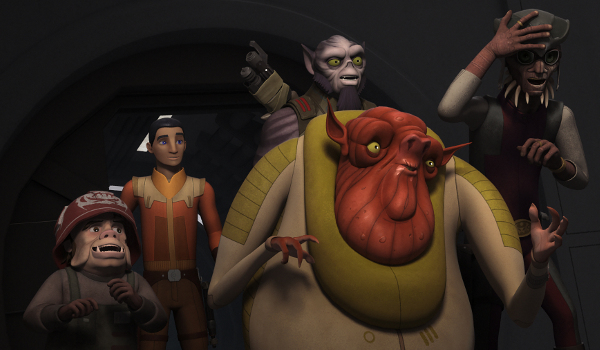 Star Wars Rebels - The Wynkahthu Job