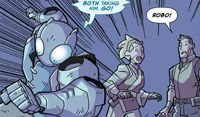 Atomic Robo and the Temple of Od #3 comic review